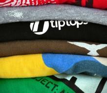 Stacked Folded Tshirts